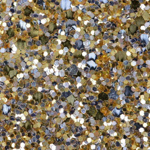 Precious metal gold silver mix glitter glam wallpaper for Mixture of gold and silver