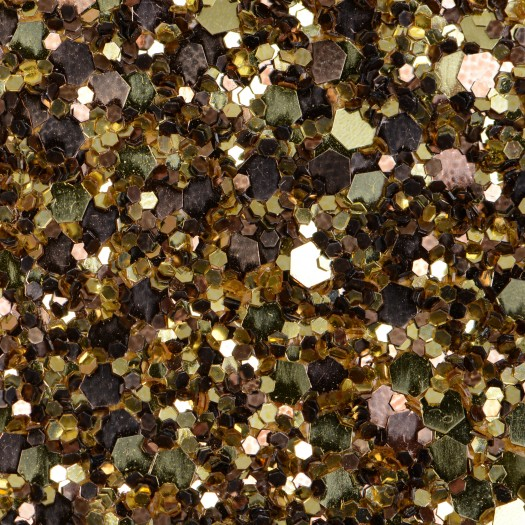 Gold Bronze Mix Glitter Glam Wallpaper